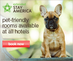 Extended Stay America, Pet friendly rooms available at all hotels