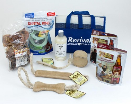 Gift package, sponsored by Revival Animal Health