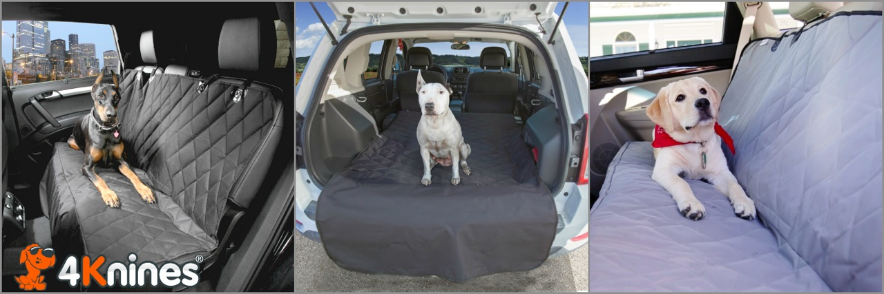 4Knines Dog Seat Covers And Cargo Liners Are Heavy Duty That Will Protect Your Vehicle From Fur Dirt Claw