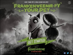 """FRANKENWEENIE-FY "" YOUR FIDO!"