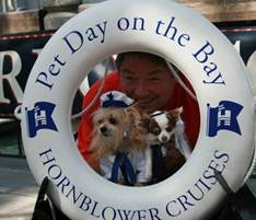 WORTHY CANINES READY TO SET SAIL AT HORNBLOWER'S PET DAY ON THE BAY!