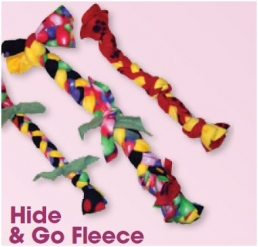 Hide and Go Fleece: Make your dog a play toy